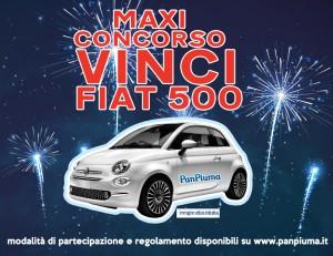 MAXI CONCORSO vinci una FIAT 500
